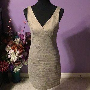 ❤️Express body con lined dress. Medium